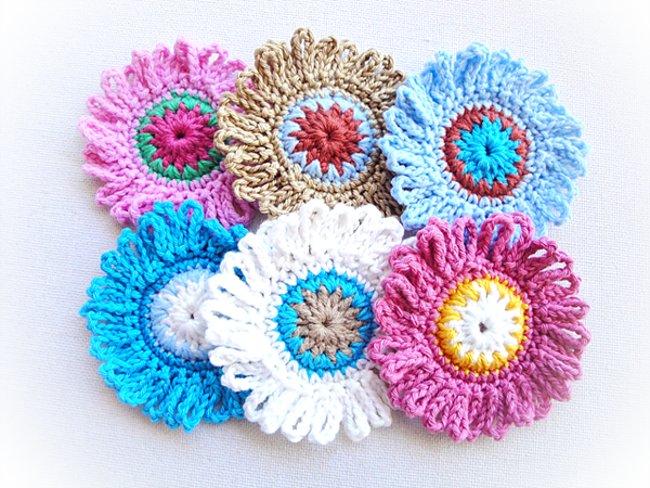 flor de croche com cores 20