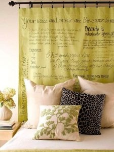 cortina tecido