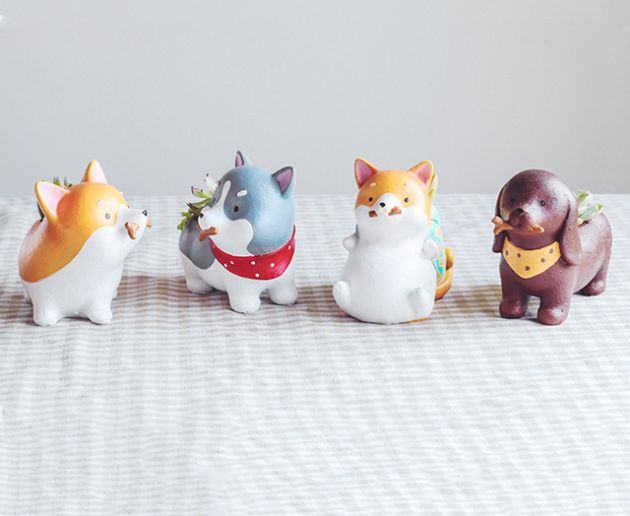 artesanato de resina cachorros 24