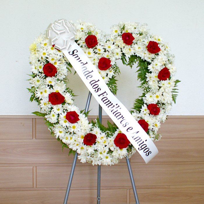 coroa de flores coracao 1