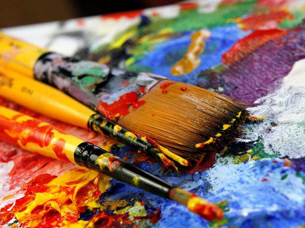atividades para educação infantil com tinta guache