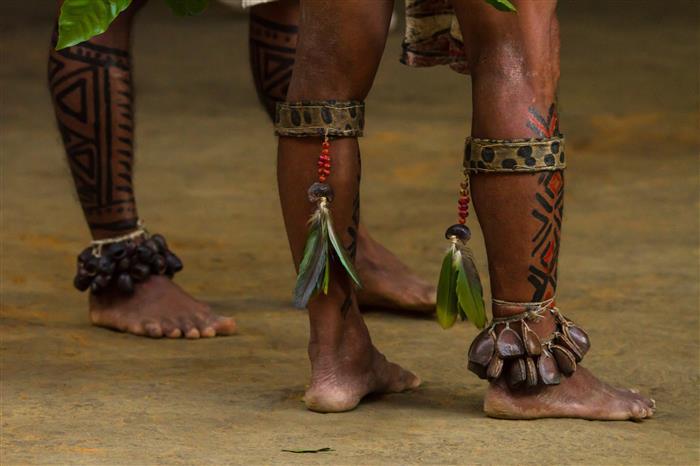 o que é o grafismo indígena