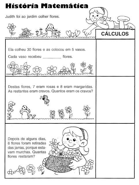 dicas de atividades de matematica