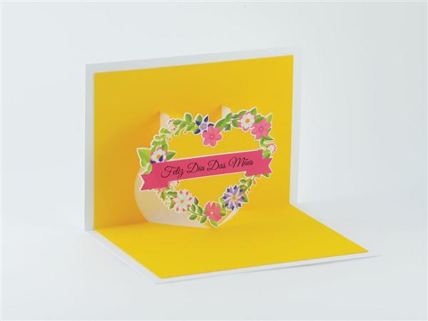 cartão dia das maes artesanal