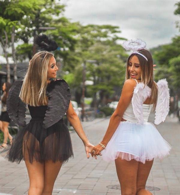 fantasia feminina anjo