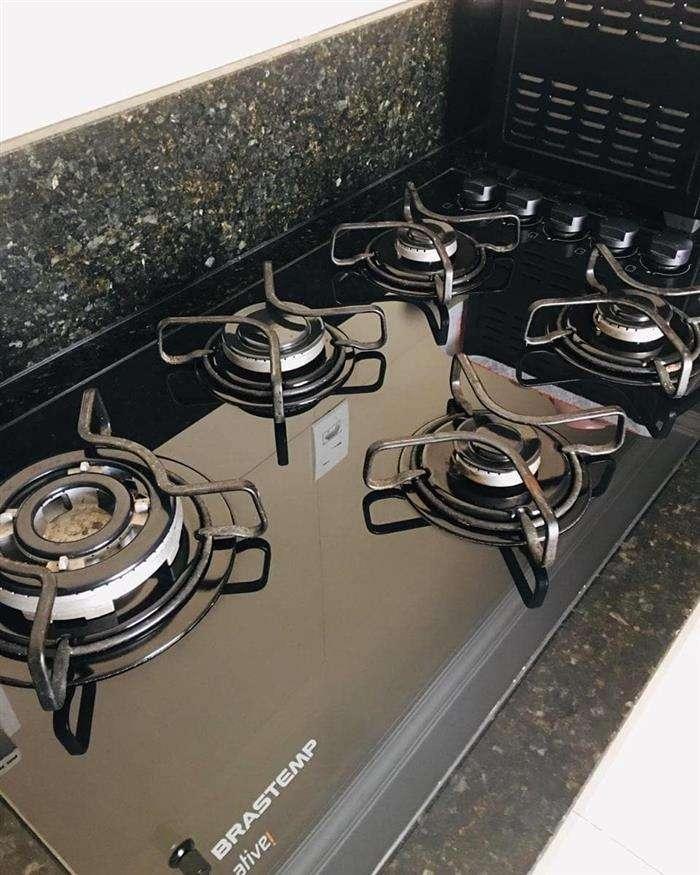 como limpar cooktop de inox