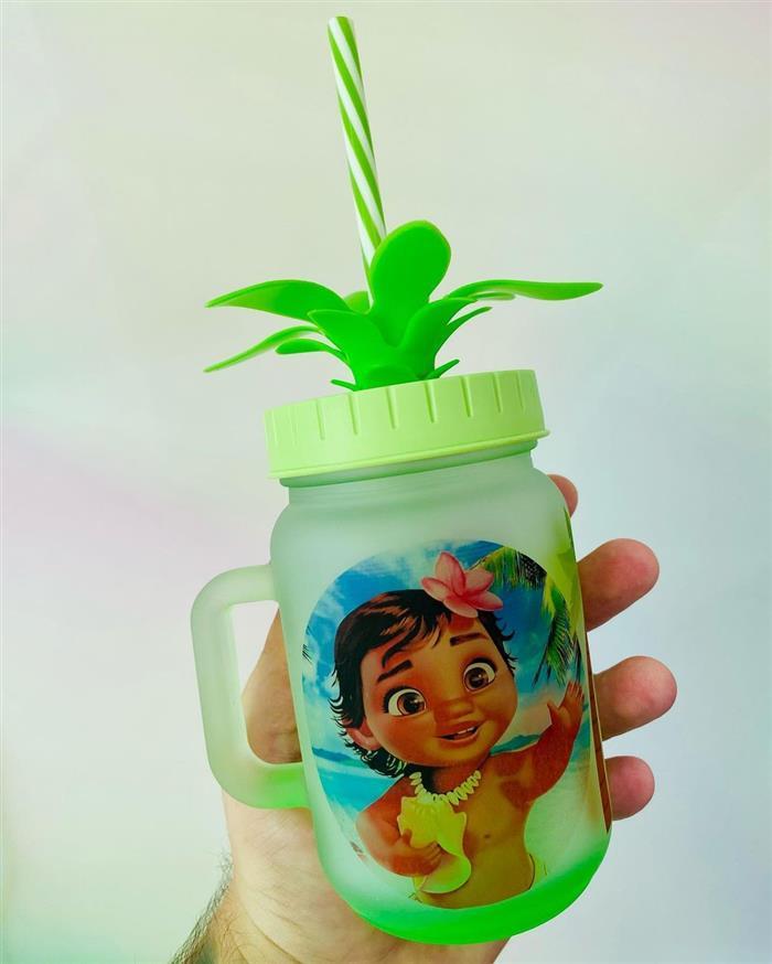copo personalizado da moana