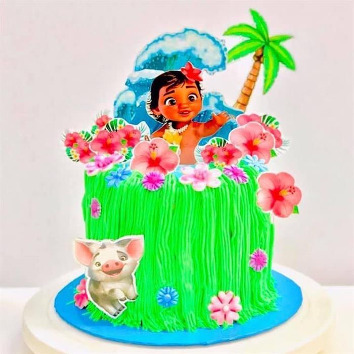 imagens de bolo da moana baby