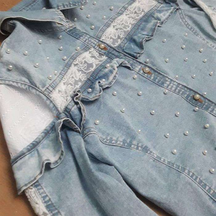 como customizar camiseta com perola