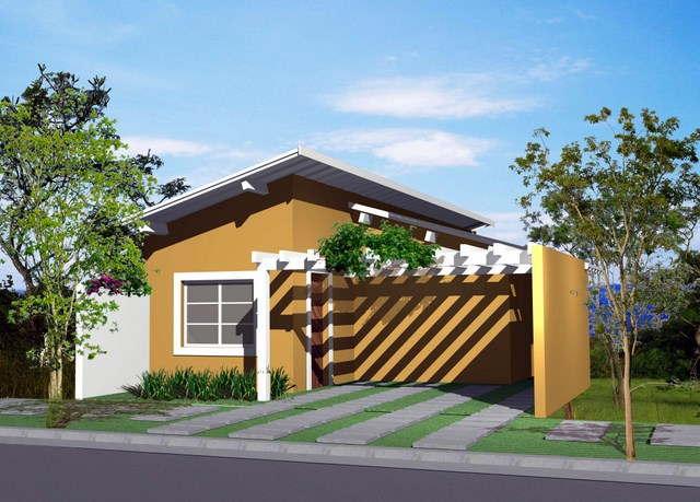 Casas pequenas e modernas vale o clique for Colores para casas pequenas