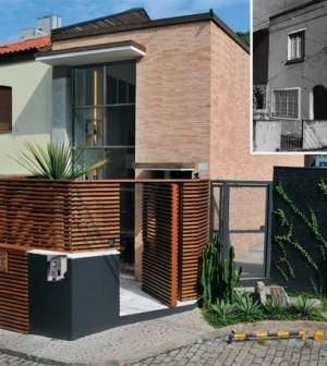 Fachadas de casas pequenas e modernas Estilos de fachadas para casas pequenas