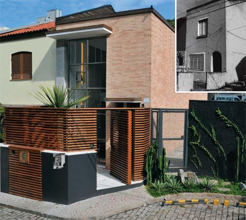 Fachadas de casas pequenas e modernas vale o clique - Reformas casas pequenas ...