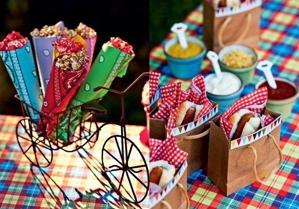 Decoração-de-festa-junina simples