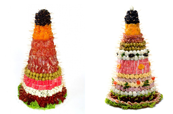 Armario Japones En El Salon ~ Enfeites natalinos comestíveis