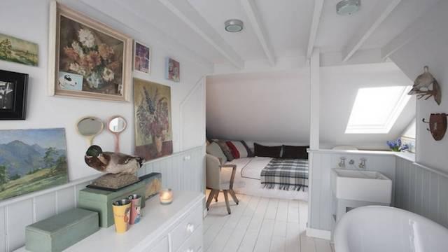 attic room closet ideas - Quarto no sótão Vale o Clique
