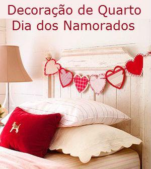 Ideias para decorar o quarto no dia dos namorados for Habitacion 14 de febrero