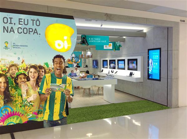 decoracao de lojas para copa no brasil (Custom)