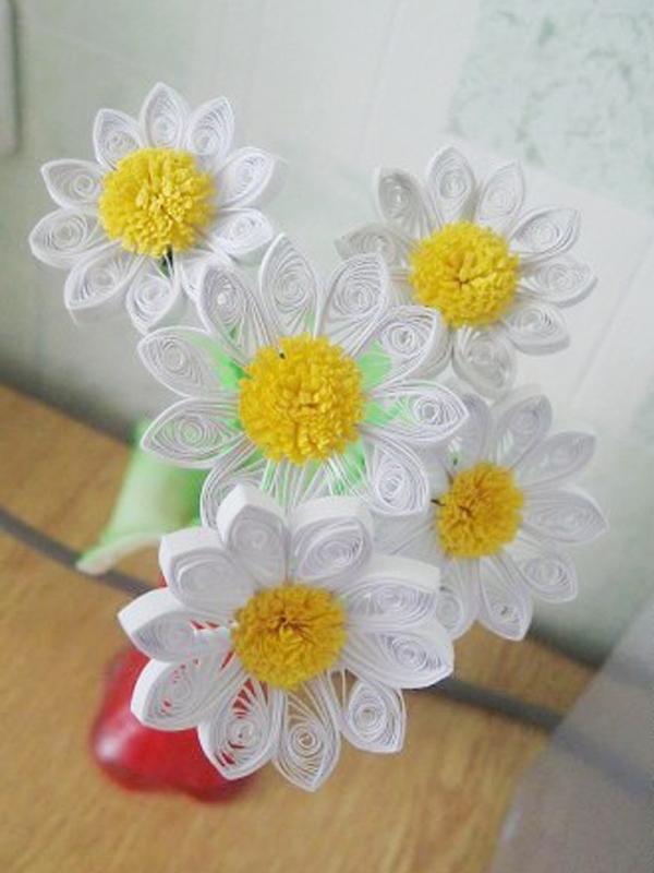 Loja Artesanato Osasco Primitiva Vianco ~ Flor em Quilling Vale o Clique!