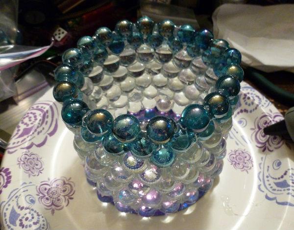 Adesivo De Olhos ~ Artesanato com bolinhas de vidro