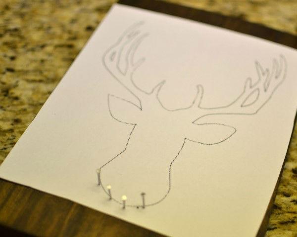 Artesanato Ideias Para Pascoa ~ Artesanato com pregos, madeira e linha
