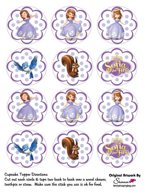 Moldes Para Festa Da Princesa Sofia Para Imprimir