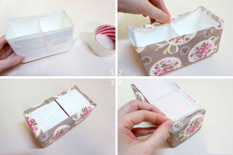 Bolsa Feita Com Caixa De Leite E Tecido : Caixinha feita de caixa leite passo a