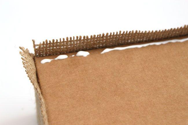 Decorar Caixas de Papelão para Organizar