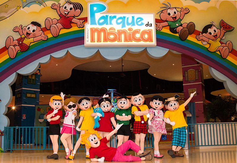 Parque da Mônica SP  Ingressos, Telefone       3