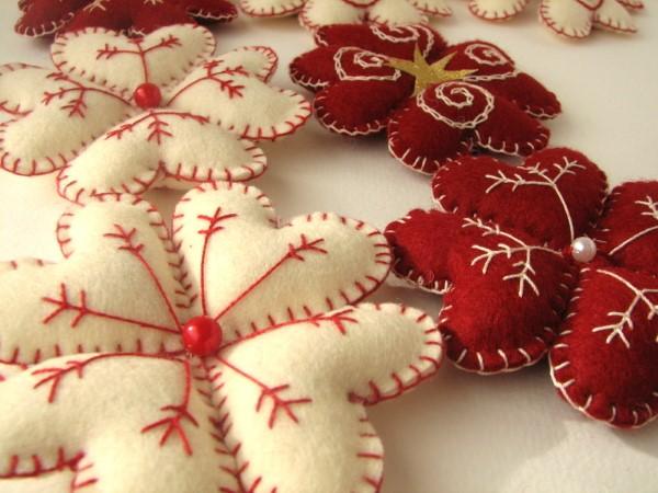 artesanato para natal com feltro