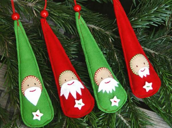 artesanatos de natal em feltro