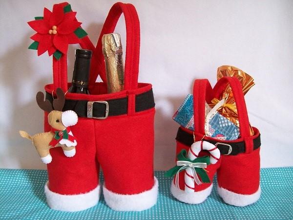 artesanato natalino em feltro