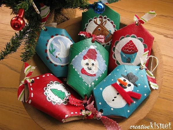 artesanatos-de-natal-com-rolos-de-papel