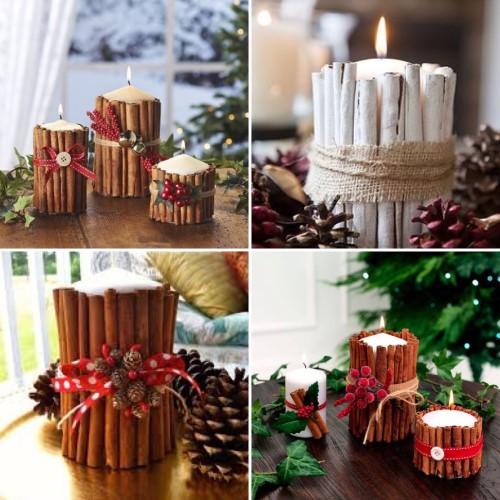 decoracao-com-velas-para-o-natal