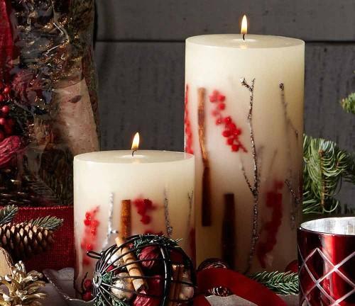 velas-de-natal-decoradas