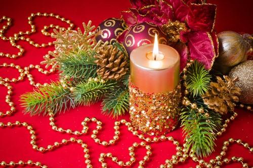 velas-de-natal-enfeitadas