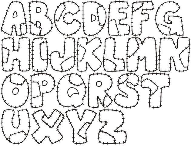 Letras de EVA como fazer