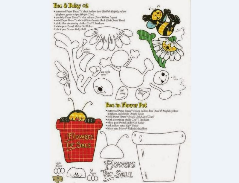 abelha no vaso