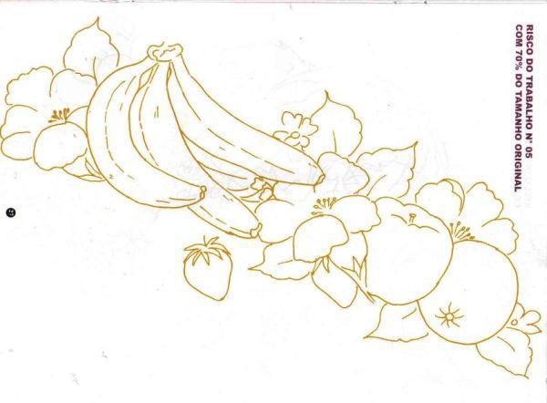 risco de bananas