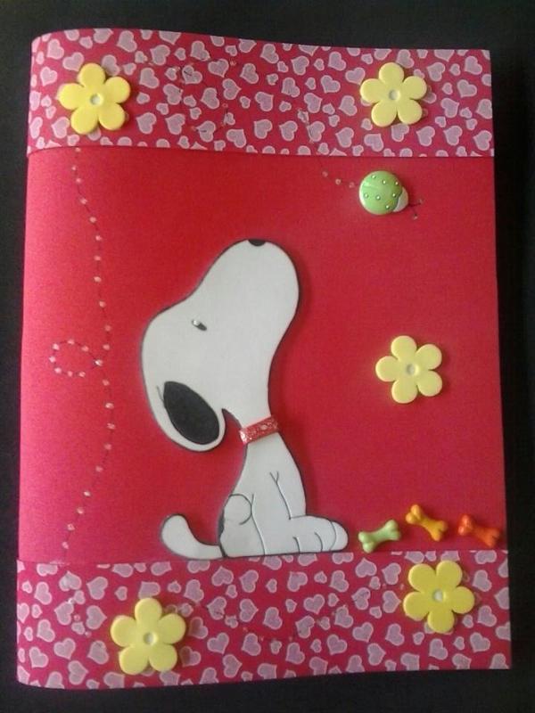 caderno em EVA snoop