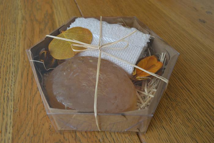 sabonete feito em casa natural