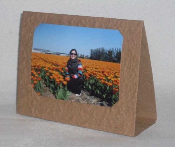 Porta retrato em papelão simples