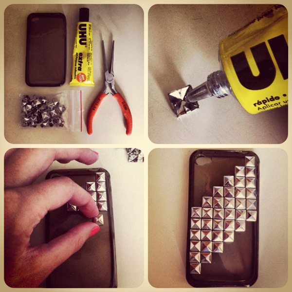 case de celular tacha