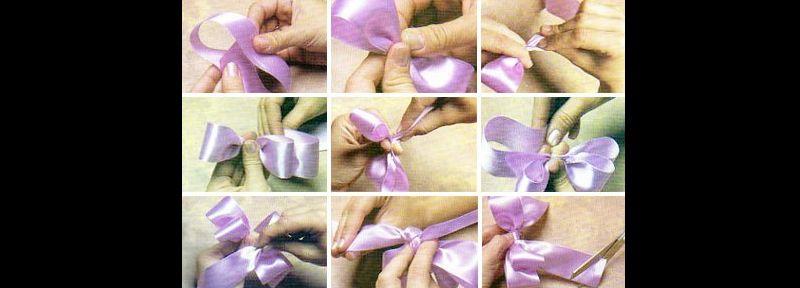 laço natalino lilas