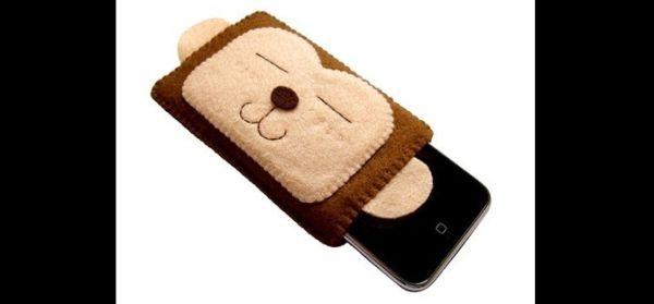 case de celular macaco