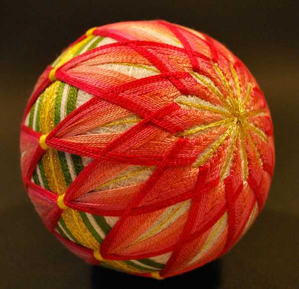 artesanato com linha bola