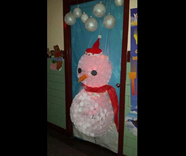 boneco de neve decorado