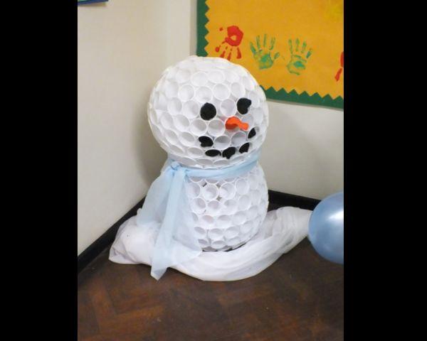 boneco de neve simples