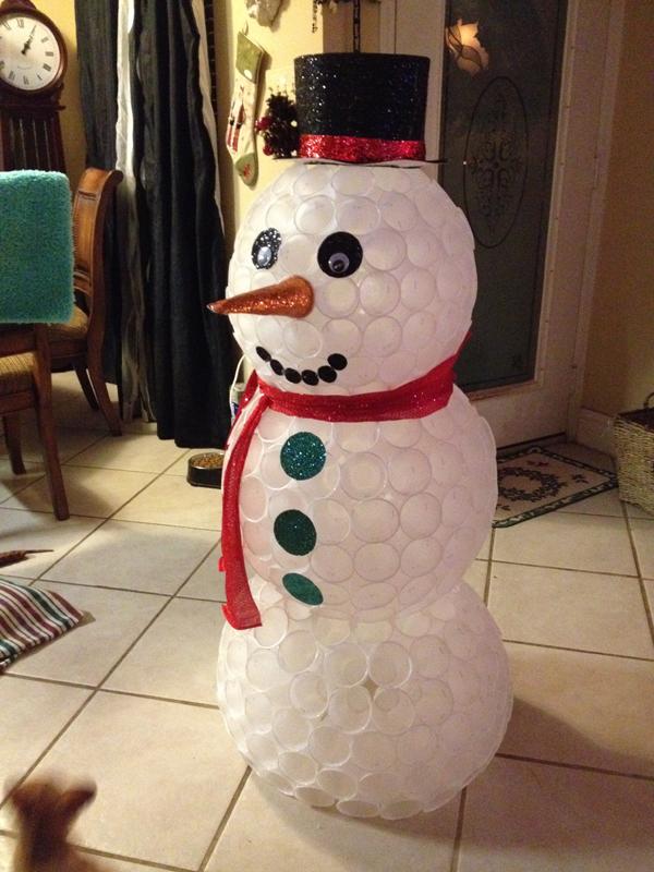 boneco de neve pequeno