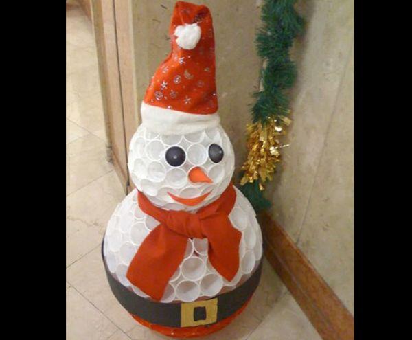 boneco de neve tutorial
