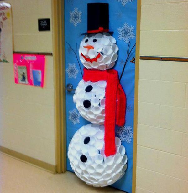 boneco de neve decoração